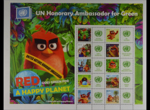 Angry Birds RED Botschafter Erde Vereinte Nationen UNO New York 2016 Nr. 1504-13