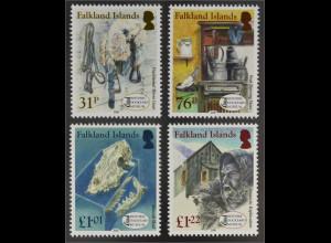 Falkland Inseln 2016 Nr. 1302-05 Historisches Museum Historic Dockyard Museum
