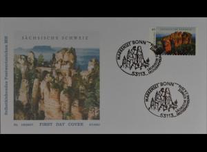 Bund Ersttagsbrief FDC Nr. 3251 2. Juni 2016 Wildes Deutschland S. Schweiz