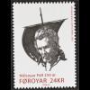 Dänemark Färöer 2016 Nr. 857 250. Geburtstag von Nolsoyar Pall Berühmte Person