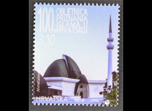 Kroatien Croatia 2016 Nr. 1227 100. Jahrestag Anerkennung des Islam in Kroatien