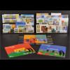 Europa CEPT 2004 Gruppe 1 Marken Blocks viele verschiedene europäische Länder