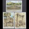 Malta 2013 Michel Nr. 1814-16 Vilhena Brunnen Floriana Spinola Brunnen