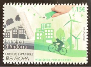 Andorra spanisch 2016 Europa Think Green Umweltbewusst leben Ökologie