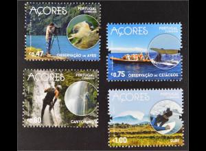 Azoren 2016 Tourismus Natur Sport Klettern Fotografieren Briefmarken
