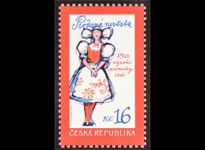 Tschechische Republik 2016 Nr. 885 Die verkaufte Braut Theaterstück Komödie