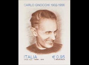 Italien Italy 2016 Michel Nr. 3883 60. Todestag von Carlo Gnocchi Priester