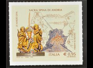 Italien 2016 Michel Nr. 3887 Das Wunder des heiligen Dornes von Andria