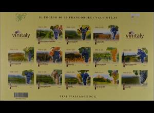 Italien Briefmarken Colli di Conegliano Dogliani Montello Roero Soave Superiore
