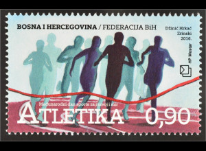Bosnien Herzegowina Kroatische Post Mostar 2016 Nr. 429 Tag des Sports