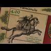 Luxemburg 2016 Block 36 500 Jahre Postroute von Thurn und Taxis durch Luxemburg