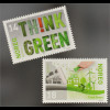 Norwegen Norway 2016 Nr. 1912-13 Europa Umweltbewusst leben Think Green Ökologie