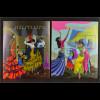 Verei. Nationen UNO Wien 2016 Block 38-39 Welttanztag Let´s Dance Flamenco