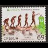 Serbien Serbia 2016 Nr. 667-68 Europa Think Green Ökologie Umweltbewusstsein