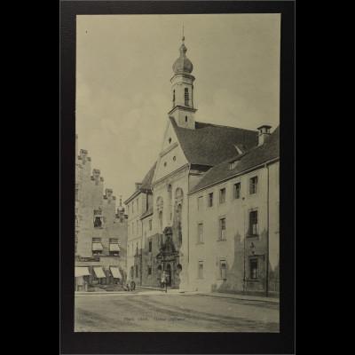 Ansichtskarte Landshut an der Isar Ndb. Neustadt Ursulinen Kloster