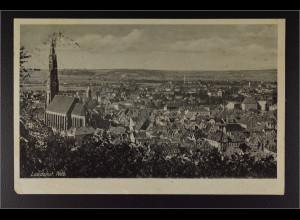 Ansichtskarte Landshut an der Isar Ndb. Feldpost gestempelt 19.10.1942
