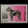 Briefmarkensatz Hunde Dobermann Englischer Schäferhund Bouvier Bernhardiner