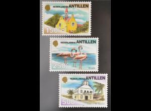 Briefmarken St.-Pauls-Kirche Windwardside Saba Rosaflamigos Amtsgericht