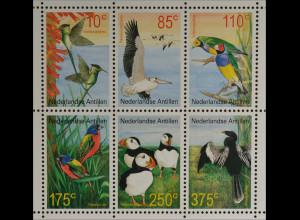 Briefmarken Vögel Wimpelschwanz Rosapelikan Gouldamadine Papstfink
