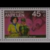 Block 50 Jahre Pfadfinder van der Maarel Gründer Antillische Pfadfinderbewegung