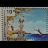 Blockmotiv Darstellung intakter Umwelt Briefmarkenblock Umweltschutz