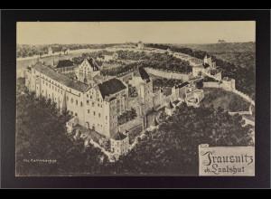 Ansichtskarte Landshut an der Isar Ndb. Burg Trausnitz Burggelände Gemälde