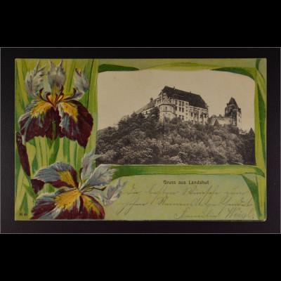 Ansichtskarte Landshut an der Isar Ndb. Burg Trausnitz