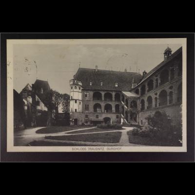 Ansichtskarte Landshut an der Isar Ndb. Schloss Trausnitz Burghof