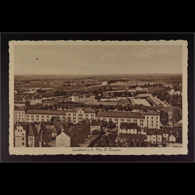 Ansichtskarte Landshut an der Isar Ndb. Max II. Kaserne