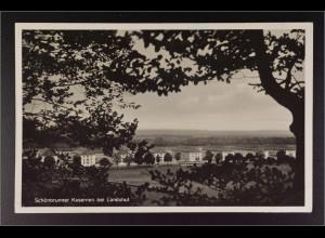 Ansichtskarte Landshut an der Isar Ndb. Kaserne Schönbrunn