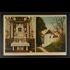 Ansichtskarte Landshut an der Isar Ndb. Maria Bründl Wallfahrtskirche Altar
