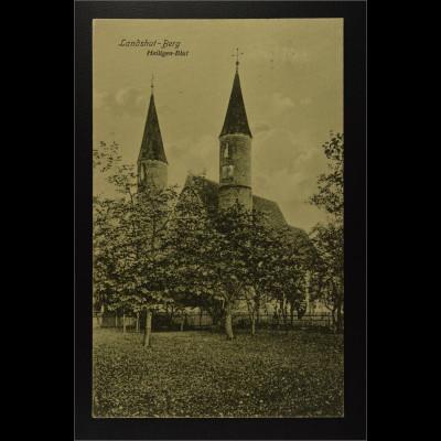 Ansichtskarte Landshut an der Isar Ndb. Landshut Berg Heiligen Blut