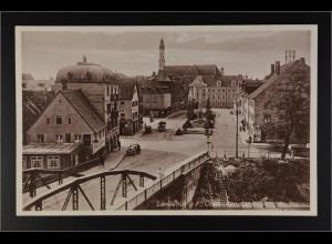 Ansichtskarte Landshut an der Isar Ndb. Obeliskenplatz