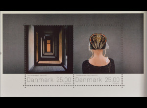 Dänemark Denmark 2016 Block 65 Briefmarkenkunst Gemälde Moderne Kunst Malerei