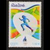 Estland Estonia 2016 Nr. 866 Olympische Sommerspiele Rio de Janeiro Läufer
