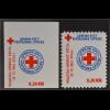 Bosnien Herzegowina Serbische Republik 2016 Zwangszuschlag Nr. 38 A+BRotes Kreuz