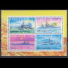Gibraltar 1997 Michel Nr. Block 29 Kriegsschiffe im Zweiten Weltkrieg (V)