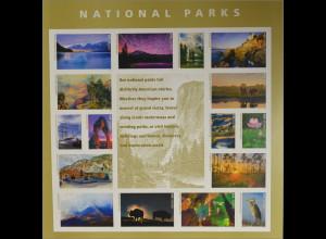 USA 2016 Nr. 5259-74 National Parks Landschaften Büffel Vögel Naturschauspiele