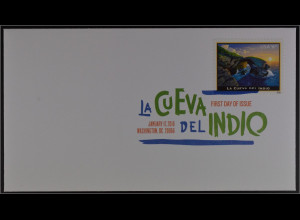 USA 2016 FDC zu Michel Nr. 5216 La Cueva del Indio bei Arecibo Puerto Rico