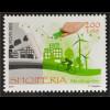 Albanien 2016 Nr. 3522 Europa Think Green Umweltbewußt leben Ökologie