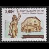 Andorra französisch 2016 Michel Nr. 803 Joseph Viladomat Bildhauer Skulpturen