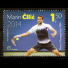 Bosnien Herzegowina Kroatische Post Mostar 2014 Nr. 393 Tennisspieler