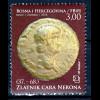 Bosnien Herzegowina Kroatische Post Mostar 2014, Nr. 395, Kaiser Nero Münze