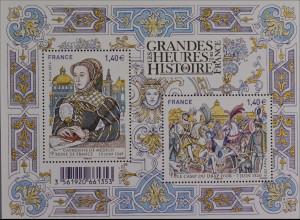 Frankreich France 2016 Block 331 Geschichtliche Ereignisse Katharina von Medici