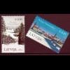 Lettland Latvia 2014, Mi.-Nr. 925-26, Weihnachten 2014, 2 Werte im kpl. Satz