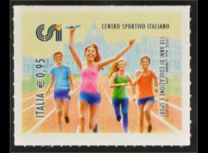 Italien Italy 2016 Michel Nr. 3906 110 Jahre Italienisches Sportzentrum CSI