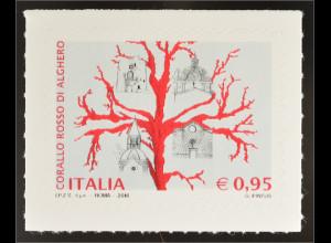 Italien Italy 2016 Michel Nr. 3911 Spitzenprodukte Korallenschmuck aus Alghero