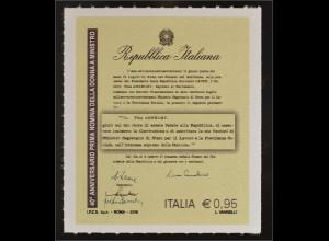 Italien Italy 2016 Michel Nr. 3915 40. Jahrestag der ersten Ministerin Italiens
