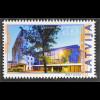 Lettland Latvia 2016 Nr. 986 Architektur Baustile Gebäude bei Nacht