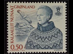 Grönland Greenland 2002 Michel Nr. 386 Freimarkenserie Königin Margrethe II